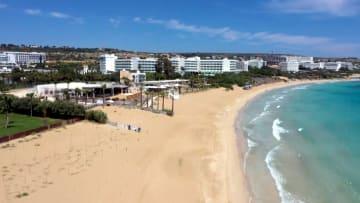 """بسبب كورونا.. هكذا بدت """"أيا نابا"""" واحدة من أفضل وجهات السياحة في البحر الأبيض المتوسط"""