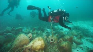 أول متحف تحت الماء في اليونان يتيح للسياح اكتشاف حطام سفينة عمرها 2500 عام