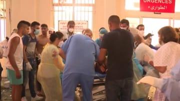 لبنان.. كاميرا من داخل أحد مستشفيات بيروت توثق لحظات الكارثة