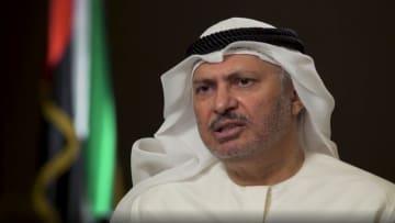 """قرقاش لـCNN: توقيت السلام رفع السيف عن حل الدولتين.. ونهج """"الكرسي الفارغ"""" لم ينجح"""