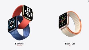 شاهد.. آبل تكشف عن ساعتها الجديدة Apple Watch Series 6