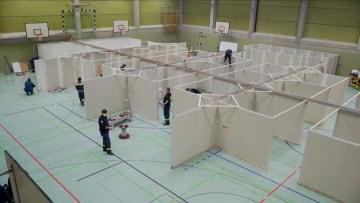 داخل مركز تطعيم ألماني ضد فيروس كورونا
