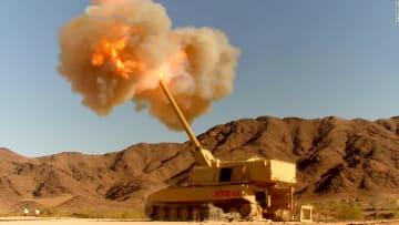بسلاح جديد.. شاهد لحظة تدمير الجيش الأمريكي هدفا على بعد 70 كيلومترا