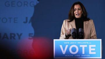 كامالا هاريس عن مكالمة ترامب المسرّبة لقلب الانتخابات: إساءة استخدام جريئة للسلطة