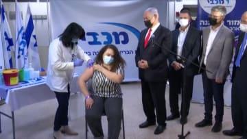 شاهد الفرق بانقسام توزيع لقاح كورونا بين الإسرائيليين والفلسطينيين