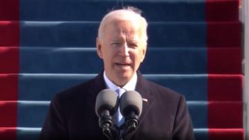 بايدن بأول خطاب عقب تنصيبه: سأكون رئيسًا لكل الأمريكيين