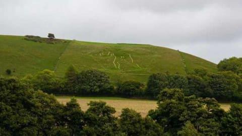شكل طباشيري عملاق محفور على أحد التلال ليس قديماً كما نظن