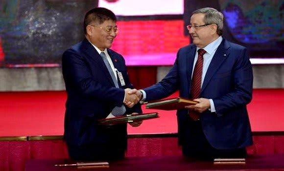 مشروع جزائري صيني بمليارات الدولارات لإنتاج الغاز والفوسفات