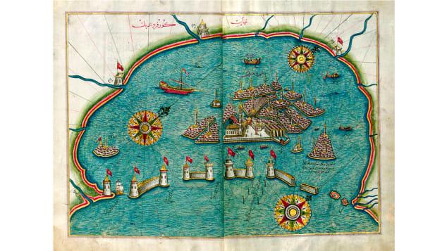 صور ورسوم تحكي قصص مغامرات البحارة القدماء