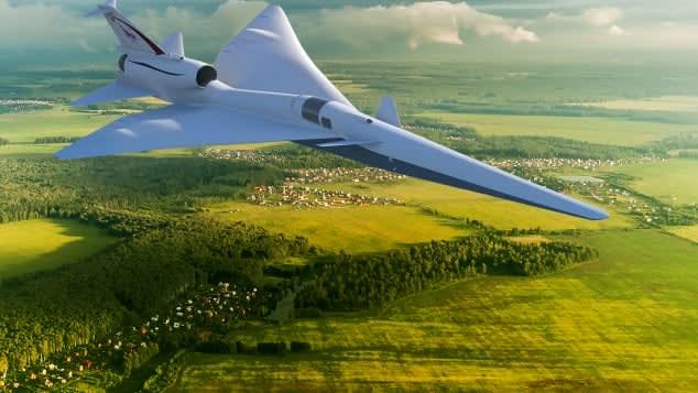 """""""لوكهيد مارتن"""" تكشف النقاب عن خطط لتصميم هادئ للطائرات الأسرع من الصوت"""