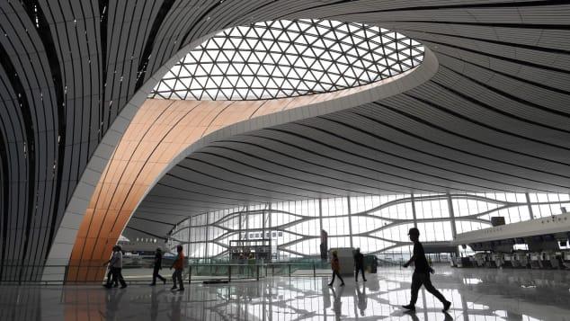 مطار جديد على وشك أن يفتتح في الصين..فكيف سيكون شكله؟