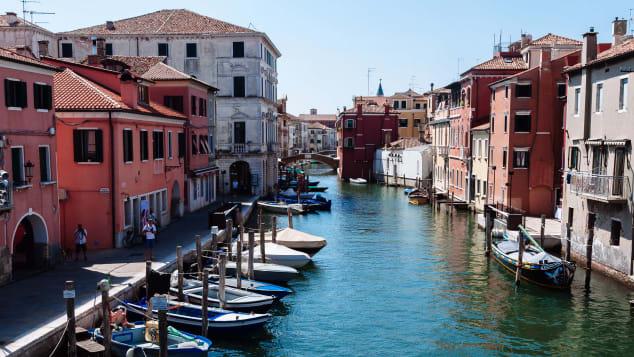 مدينة كيودجا في إيطاليا