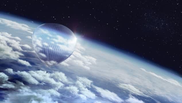 مقابل 50 ألف دولار... يمكنك السفر إلى حافة الفضاء على متن هذا المنطاد!