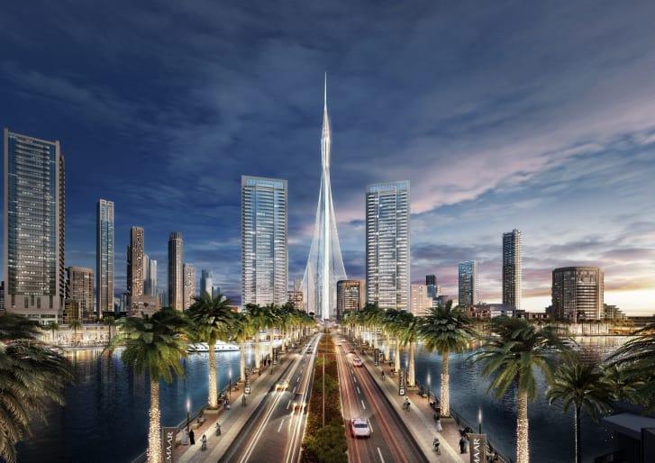 من بين المفاجأة العمرانية الجديدة بدبي: برج ضخم يكسر رقماً قياسياً بطول 550 متر