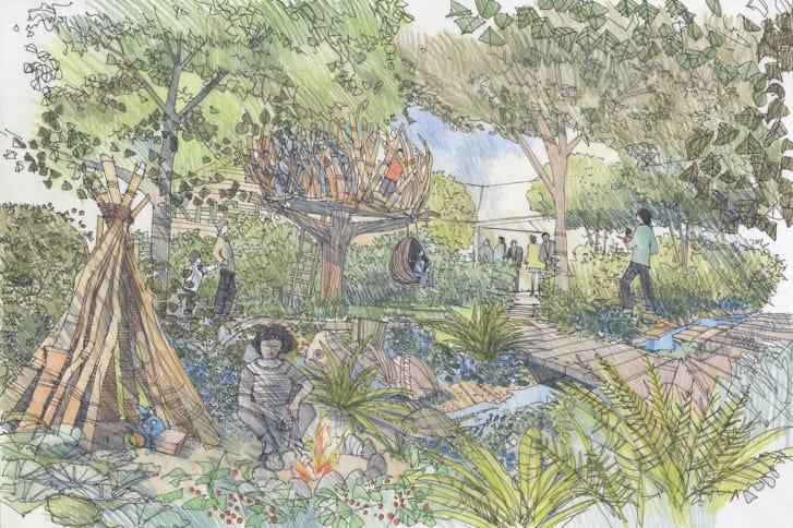ما تفاصيل الحديقة التي صممتها دوقة كامبردج؟
