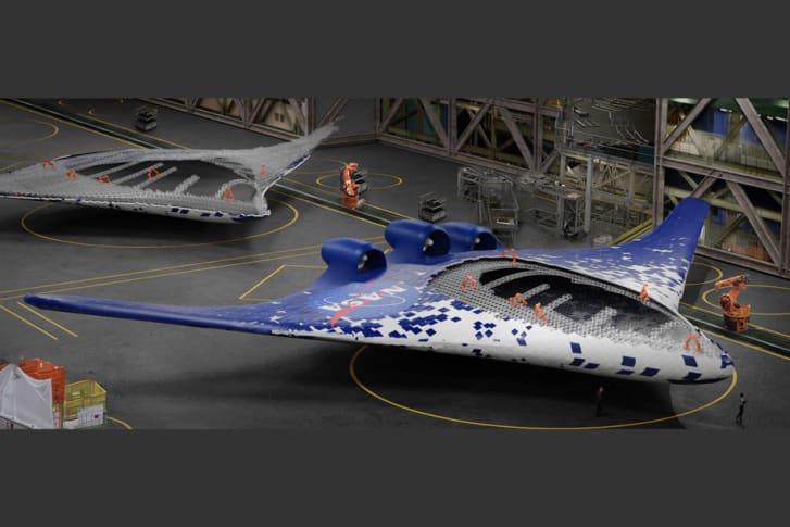 جناح طائرة جديد يتحرك كالعصفور..ويغيّر من تصميم الطائرات بشكل جذري