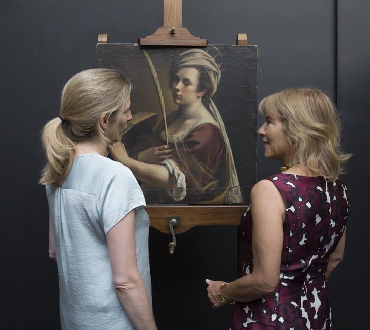 لوحة فنية بقيمة 4.7 مليون دولار تزور الطبيب، فما السبب؟