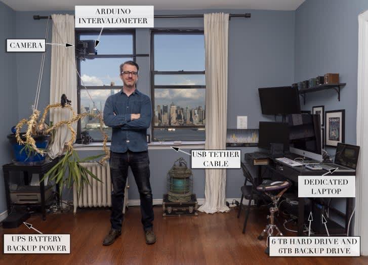 لمدة 30 عام.. هذا المصور سيوثق أفق مدينة نيويورك بالتصوير المتقطع حتى عام 2045