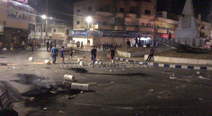 اشتباكات في مدينة الرمثا الأردنية