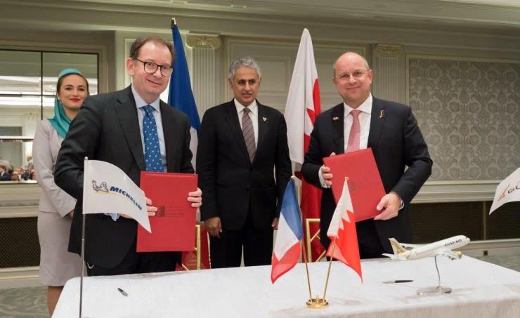 البحرين توقع عقودا بملياري دولار مع شركات فرنسية