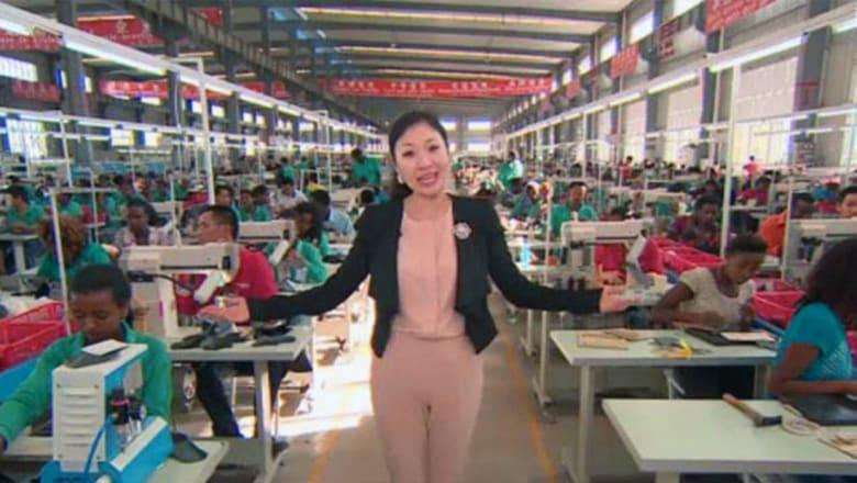 ازدهار صناعة الأحذية الصينية في بلدان أفريقيا