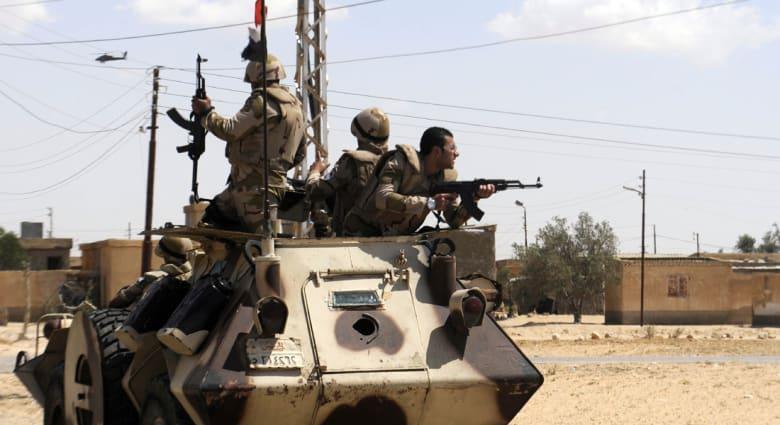 مصر: مقتل 3 جنود وإصابة 11 آخرين بهجوم بسيناء