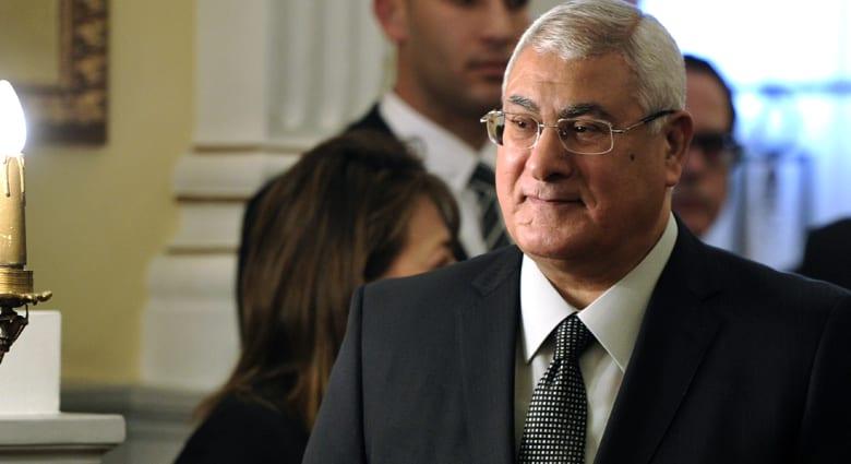عدلي منصور يعدّل خريطة الطريق وانتخابات الرئاسة تسبق البرلمان