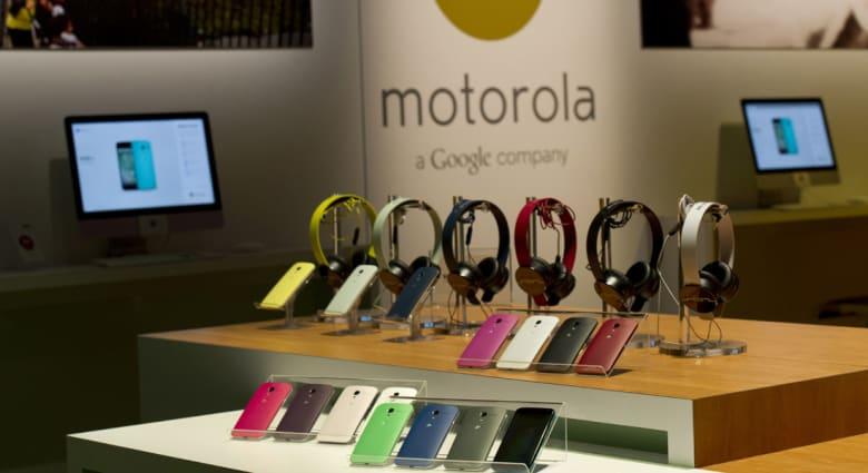 """""""غوغل"""" تبيع """"موتورولا"""" لشركة """"لينوفو"""""""