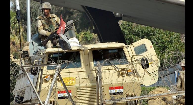 مصر.. 26 مصابا في مظاهرات القاهرة وضبط أسلحة مهربة بالسلوم