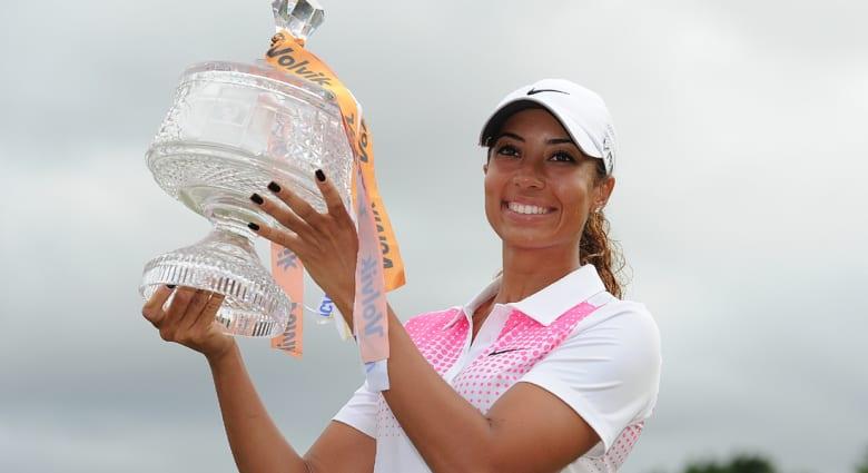 ابنة أخ تايغر وودز بطلة محترفة في الغولف أيضا