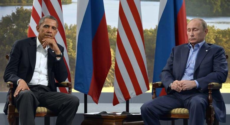 بوتين لأوباما: لروسيا الحق بالدفاع عن مصالحها وعن الناطقين بلغتها بالقرم