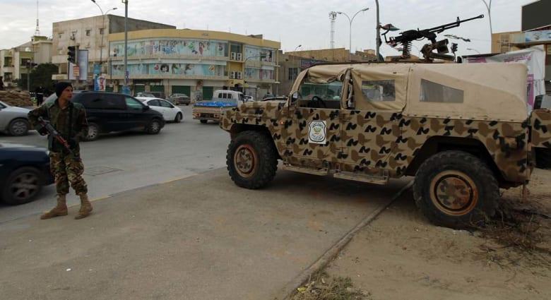 ليبيا: إصابات بعد اقتحام متظاهرين مقر المؤتمر الوطني العام