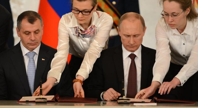 الكرملين يعلن القرم ومدينة سيفاستوبول أراض روسية