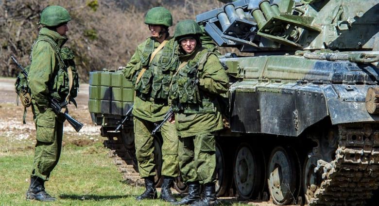 انتشار 40 إلى 80 ألف جندي روسي على حدود أوكرانيا