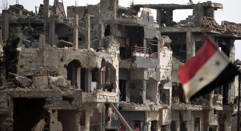 دوي انفجارات قوية توقف دخول مساعدات إنسانية لحمص