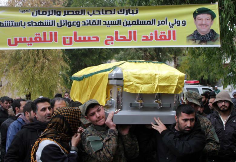 جنائز حزب الله تتواصل ومعارضون سوريون يؤكدون بالصور مقتل ألف من عناصره