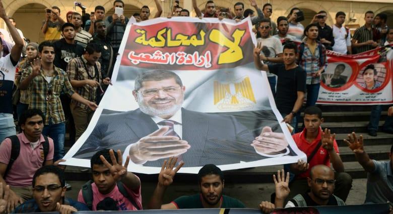 """بعد توقفها لشهرين.. تأجيل محاكمة مرسي بقضية """"وادي النطرون"""" لـ23 أبريل"""