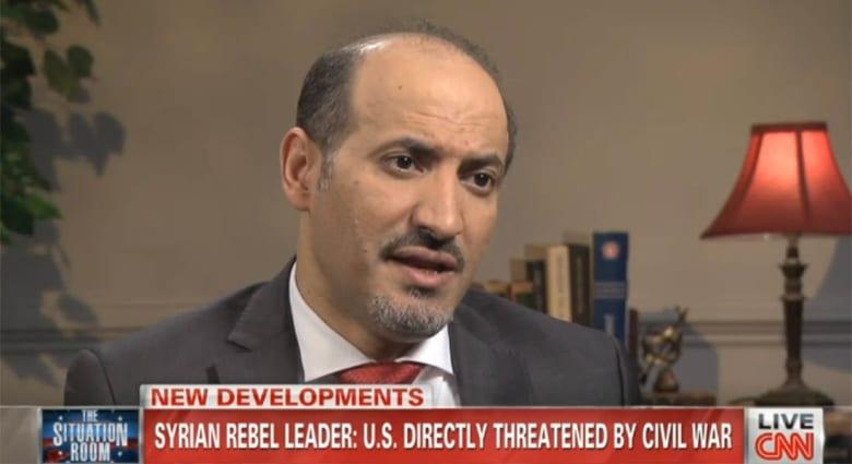 الجربا لـCNN: تأخر أمريكا سمح بظهور الجهاديين وترك الأسد بقتلنا دون كيماوي منطق عجيب