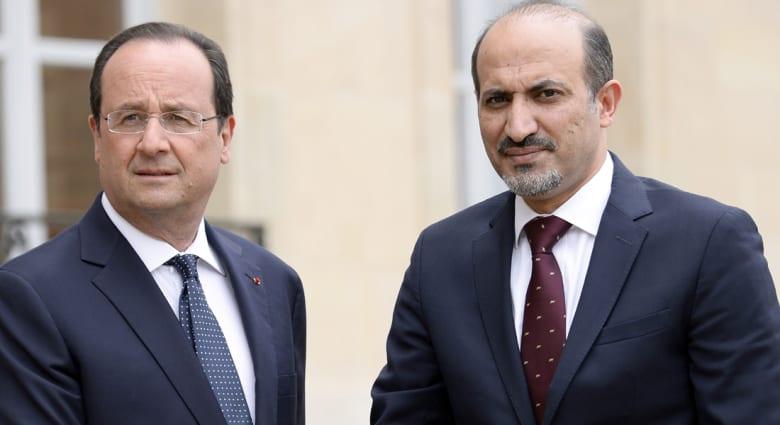 الجربا: المعارضة بصدد اتخاذ إجراءات لوقف مهزلة انتخابات الأسد
