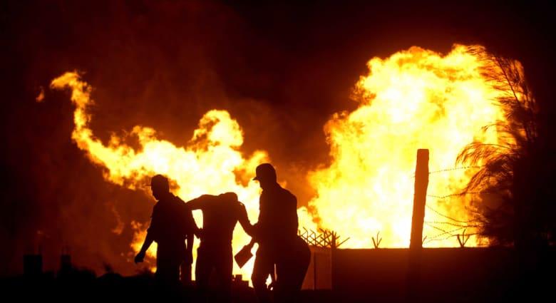 للمرة 22... تفجير خط الغاز شمال سيناء