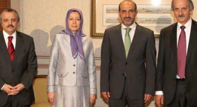 """لقاء بين المعارضة السورية و""""مجاهدي خلق"""" تنديدا بالأسد ونظام """"ملالي"""" طهران"""