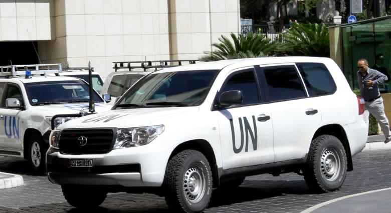 سوريا: ارهابيون اختطفوا محققين دوليين.. ومنظمة حظر الكيماوي تنفي