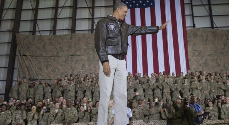 أوباما: حان الوقت لطي صفحة ركزت فيها سياستنا الخارجية على الحروب بالعراق وأفغانستان