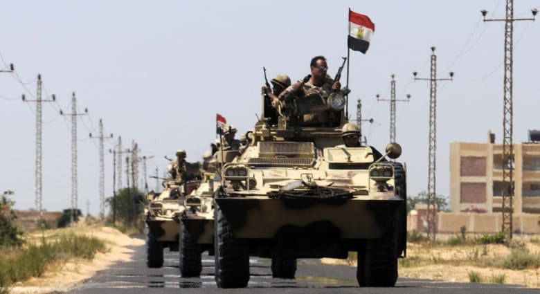مصر.. إحباط محاولة تفجير مبنى أمني بـ3 براميل متفجرة بالعريش
