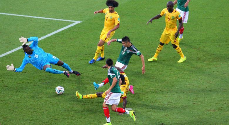 كأس العالم 2014.. فوز مستحق للمكسيك على أسود الكاميرون بهدف دون رد