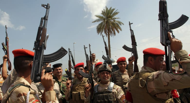 بعد نفي وجود الحرس الثوري هناك.. الرئيس الإيراني: مستعدون لتقديم العون إلى العراق