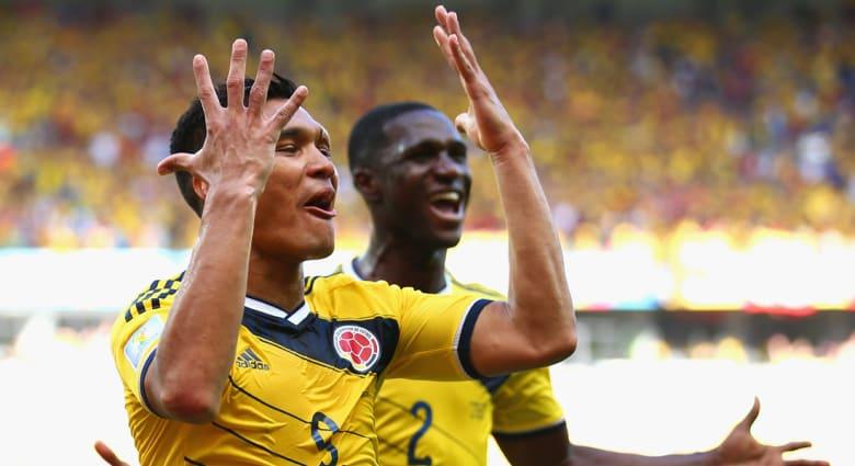 كأس العالم 2014: كولومبيا تنهي لقائها مع اليونان بـ3 أهداف مقابل لا شيء