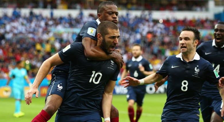 مونديال 2014: كريم بنزيمة يقود فرنسا لهزيمة هندوراس بثلاثية نظيفة