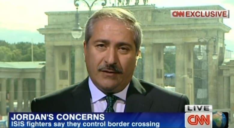 وزير خارجية الأردن لـCNN: حاليا نقوم بمراقبة الوضع في العراق وارتفاع وتيرة العنف سيؤثر على كامل المنطقة