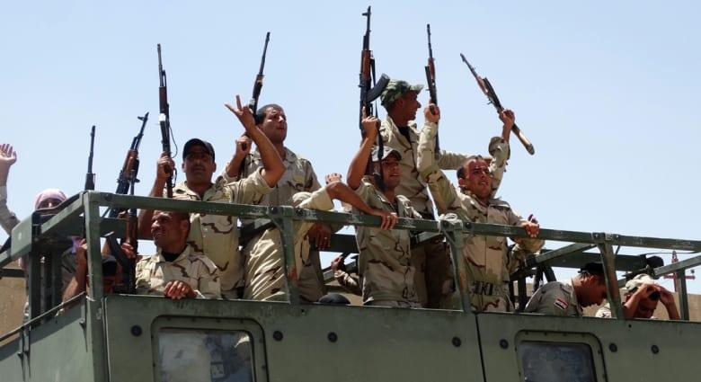 زعيم قبلي يؤكد لـCNN طرد داعش من تكريت والتنظيم يزعم تدمير 8 آليات ولا يزال يحاصر بغداد